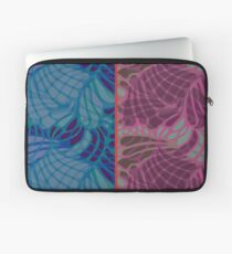 Blue and Purple Abstract Laptop Sleeve