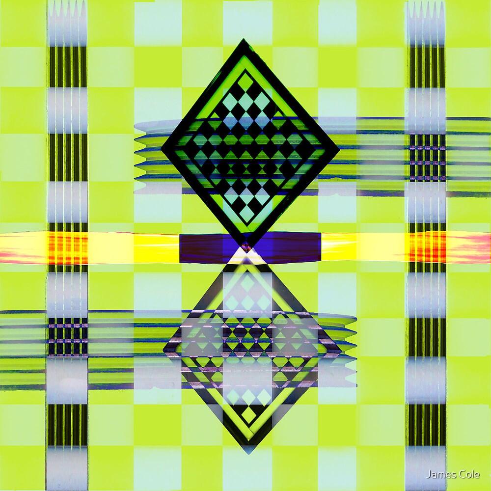 Yellow Diamonds by James Cole