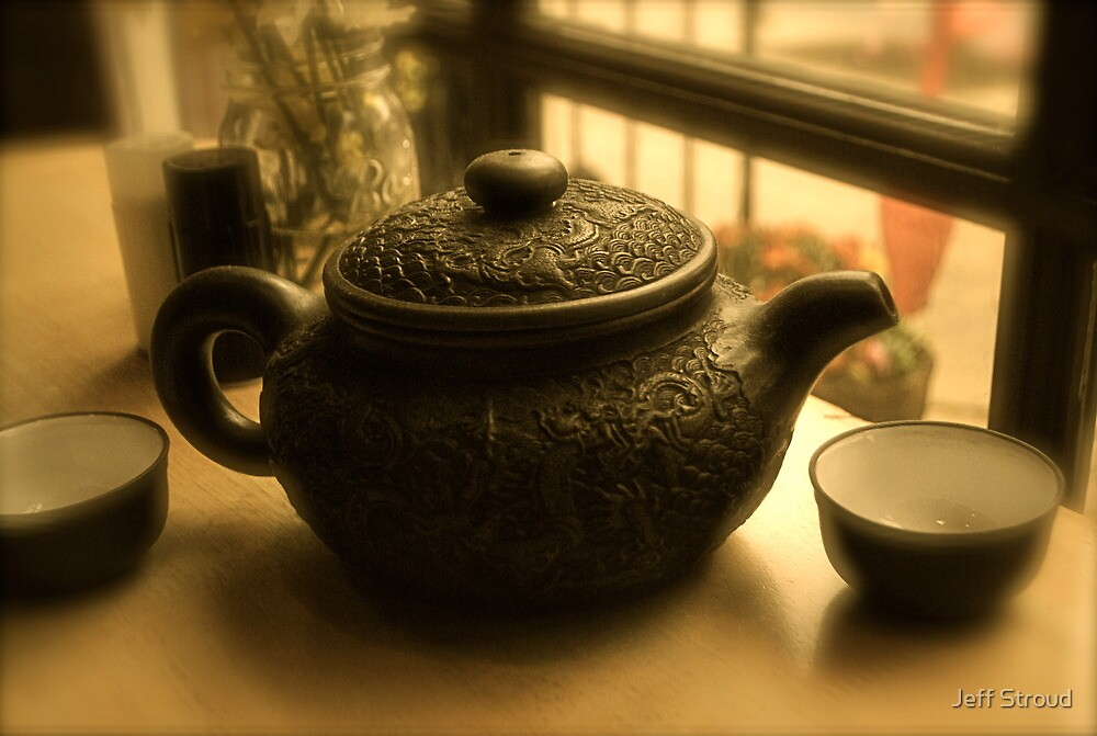 Chinese Tea time by Jeff stroud