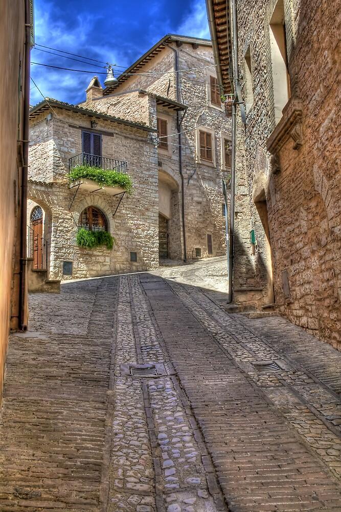 Spello Alley by oreundici