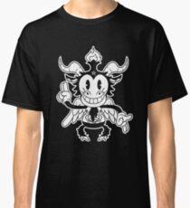 Blackcraft cute kawaii Baphomet old Cartoon - 30s Lucifer Old School Classic T-Shirt