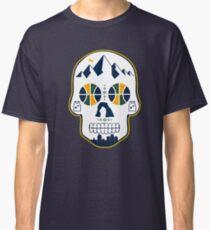 Utah Basketball Schädel Classic T-Shirt