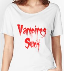 Vampires Suck Twilight Women's Relaxed Fit T-Shirt