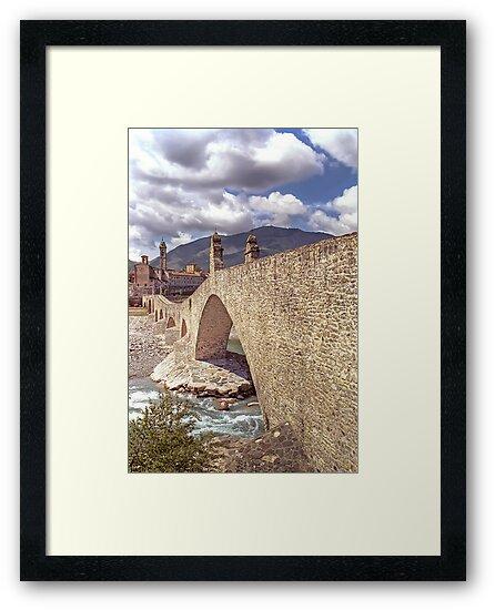 Hunchback Bridge - Bobbio - Italy by paolo1955