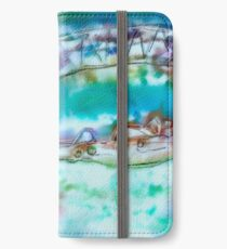 Cape Cod Traffic Jam Abstract Art iPhone Wallet/Case/Skin