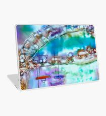 Cape Cod Traffic Jam Abstract Art Laptop Skin