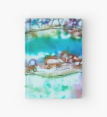 Cape Cod Traffic Jam Abstract Art Hardcover Journal