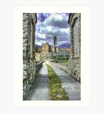 Bobbio - Italy Art Print