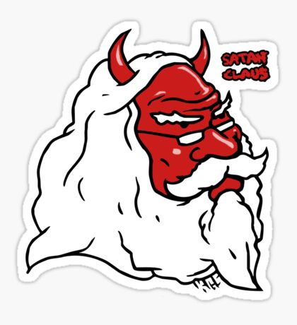 Satan Claus Sticker