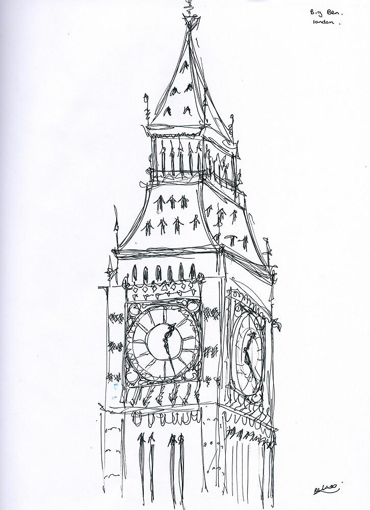 Big Benjamin Drawing. by Isabella Jaacson