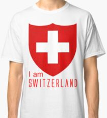 I Am Switzerland Twilight Classic T-Shirt