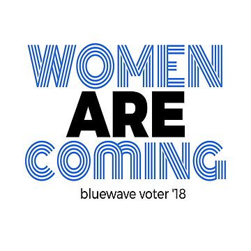Women Are Coming Bluewave 18 by LisaLiza