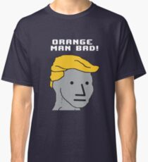 NPC Wojak Orange Man Bad T-Shirt Classic T-Shirt