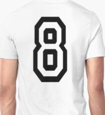 8, EIGHT, TEAM SPORTS, NUMBER 8, eighth, competition T-Shirt