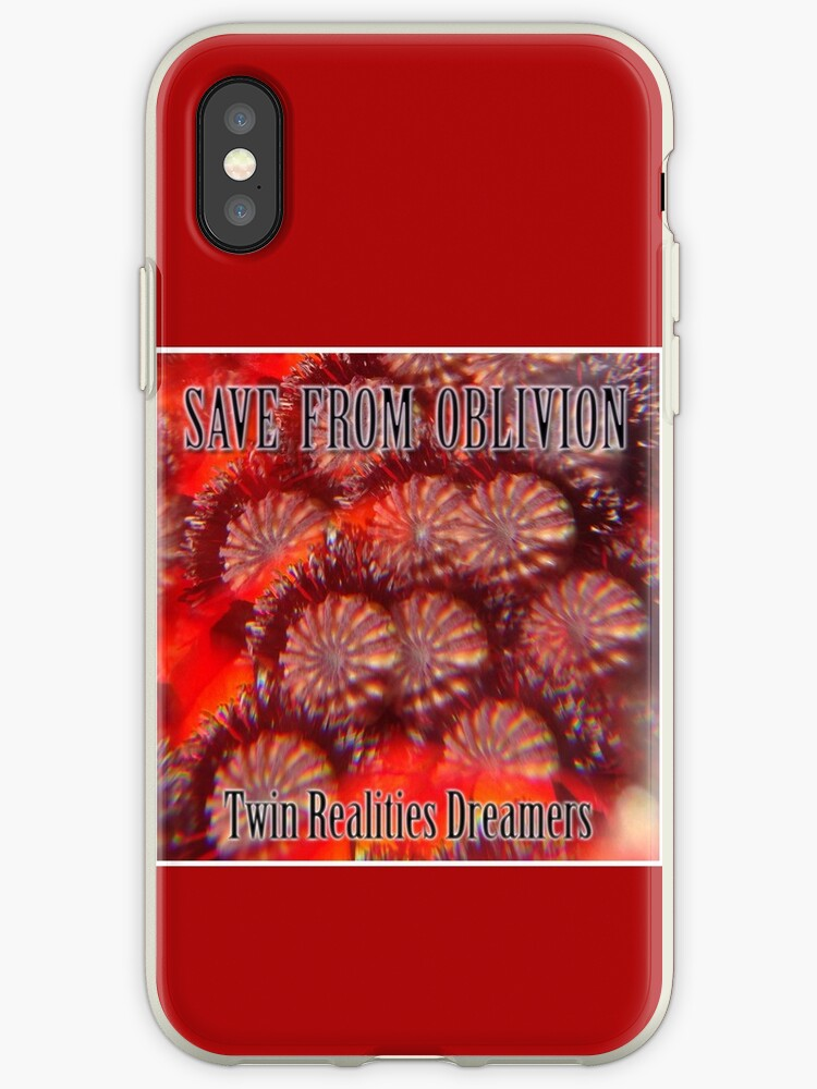 Save From Oblivion Iphone Cases Covers By Edend Redbubble
