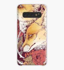 Red Fox Bloom Case/Skin for Samsung Galaxy