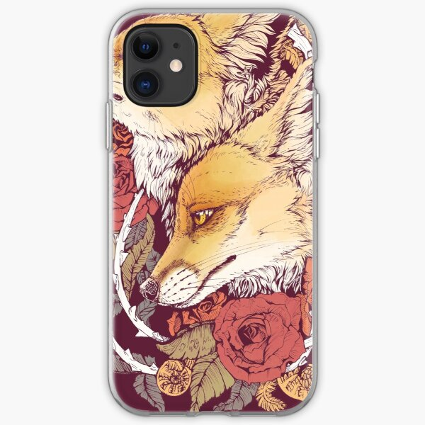 Cute Hipster Red Fox iphone 11 case