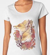 Rotfuchs-Blüte Frauen Premium T-Shirts