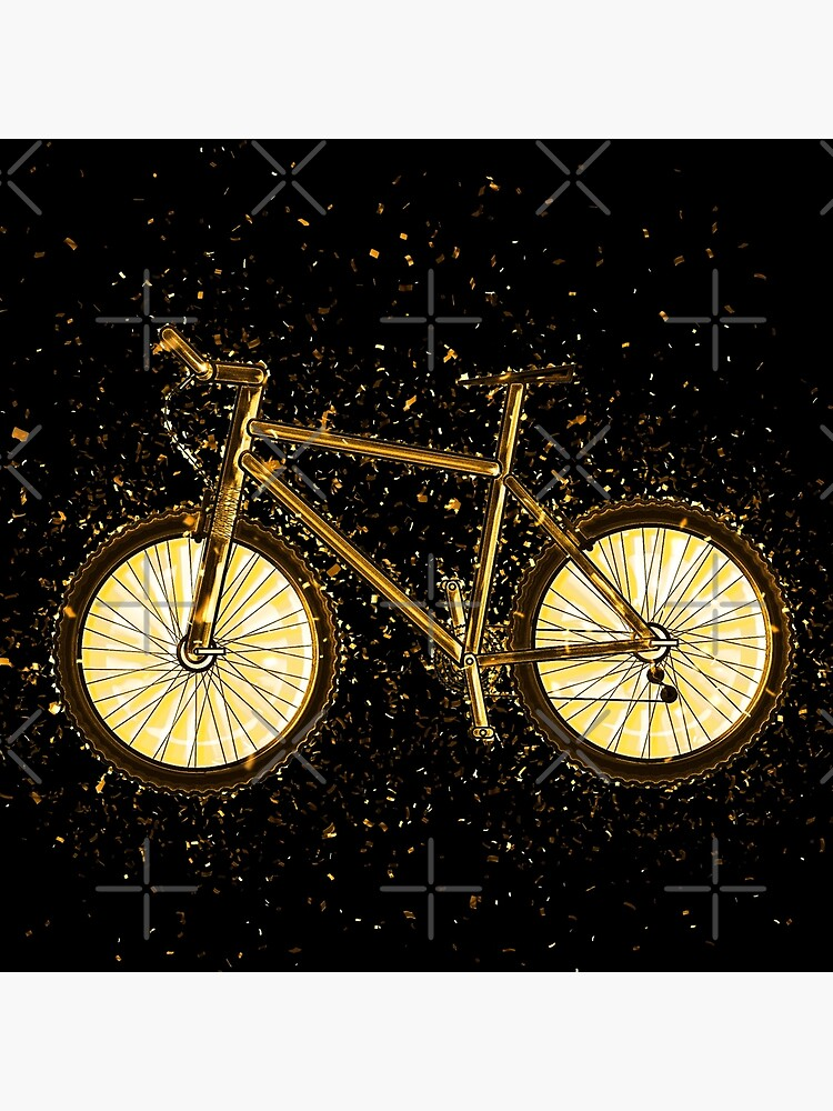 Bicycle wheels golden Gold von VincentW91