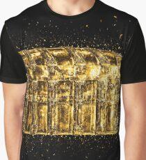 Chest box golden Gold Graphic T-Shirt