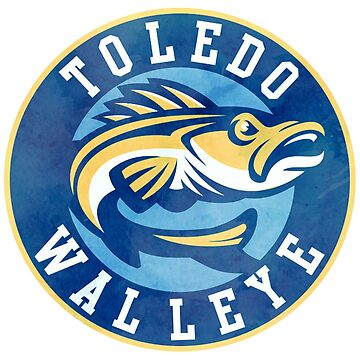 Toledo Walleye - Aquarell von lenanighs