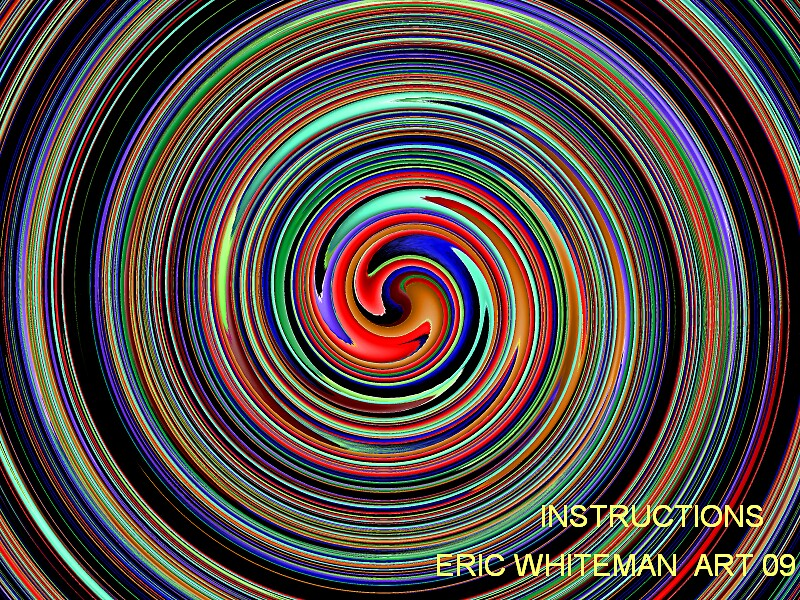 ( INSTRUCTIONS ) ERIC WHITEMAN  by ericwhiteman