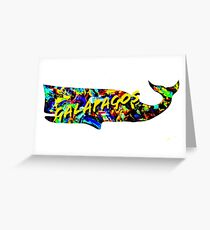 Galapagos whale  Greeting Card
