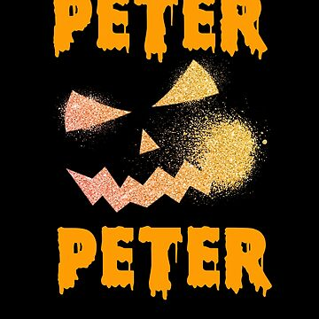 Peter Peter Pumpkin Eater Jack O Lantern Cool Funny Halloween by hlcaldwell
