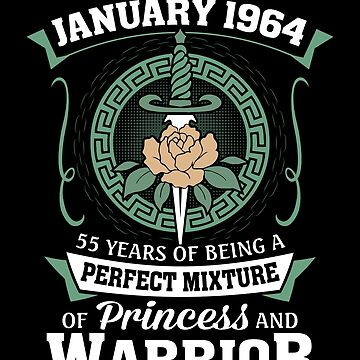 January 1964 Perfect Mixture Of Princess And Warrior by lavatarnt