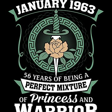 January 1963 Perfect Mixture Of Princess And Warrior by lavatarnt