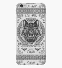 Legend of Zelda Twilight Princess Wolf Link Line Artly  iPhone Case