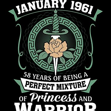 January 1961 Perfect Mixture Of Princess And Warrior by lavatarnt
