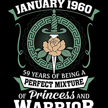 January 1960 Perfect Mixture Of Princess And Warrior by lavatarnt