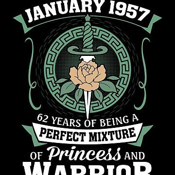 January 1957 Perfect Mixture Of Princess And Warrior by lavatarnt