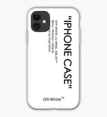 Off White - Weiße Haut iPhone-Hülle & Cover
