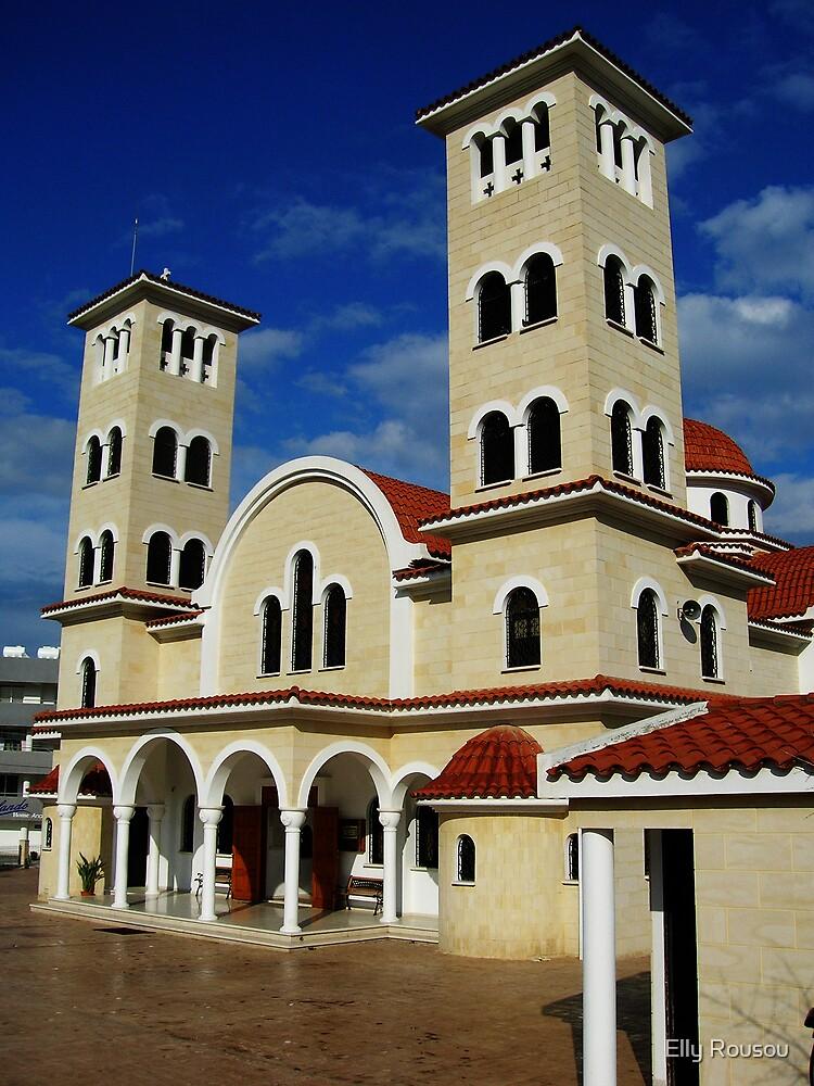 Ayios Anargyros church in Larnaca by Elly Rousou