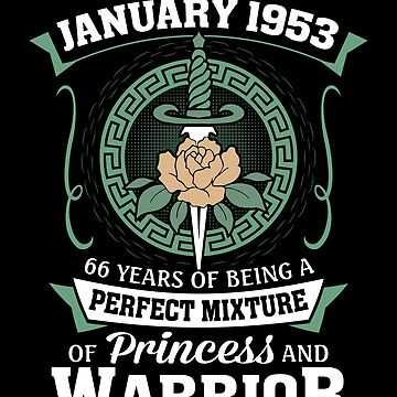 January 1953 Perfect Mixture Of Princess And Warrior by lavatarnt