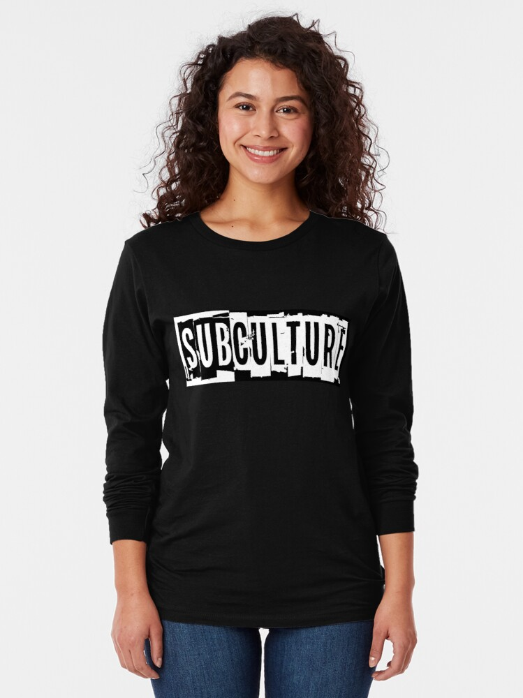 Alternate view of Sub Culture:  Apparel & Accessories Long Sleeve T-Shirt