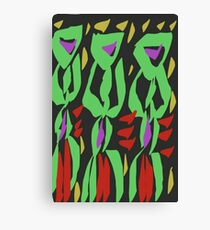Camouflage kampala Canvas Print