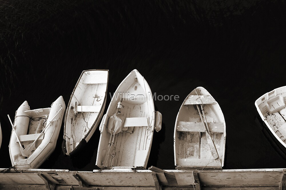 Waiting By The Dock by William Moore