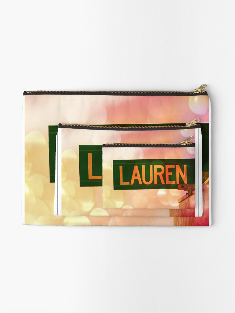 Alternate view of Lauren  Zipper Pouch