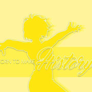 Yuri On Ice!! - Yuri Plisetsky - Born To Make History by spacespud