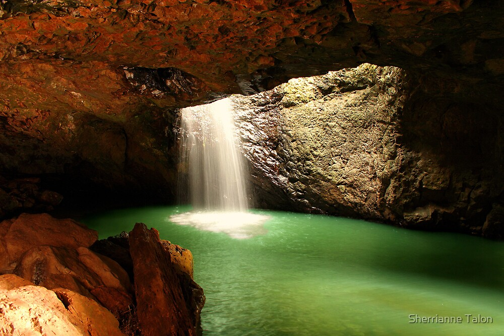 Natural Bridge Queensland by Sherrianne Talon