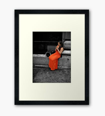 Beauty in an Ugly World Framed Print