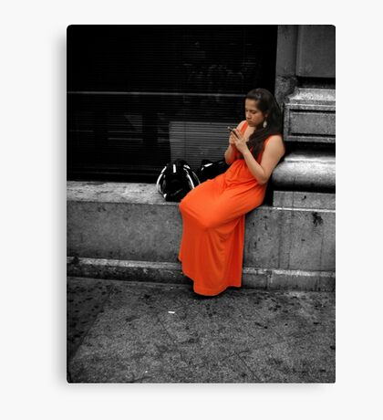 Beauty in an Ugly World Canvas Print