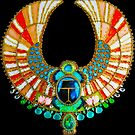 Jeweled Egyptian Scarab Art by Walter Colvin