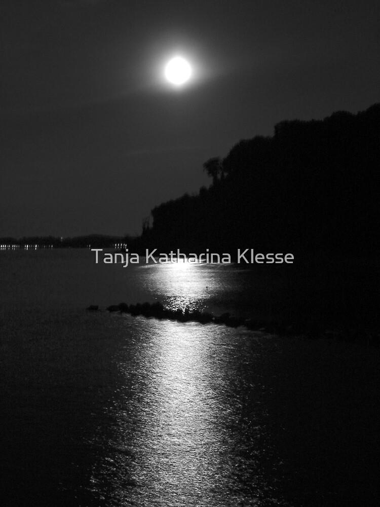 Moon Sea Night by Tanja Katharina Klesse