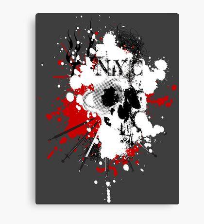 NYC Spray Canvas Print
