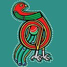King Parrot Letter D 2018 by Donna Huntriss