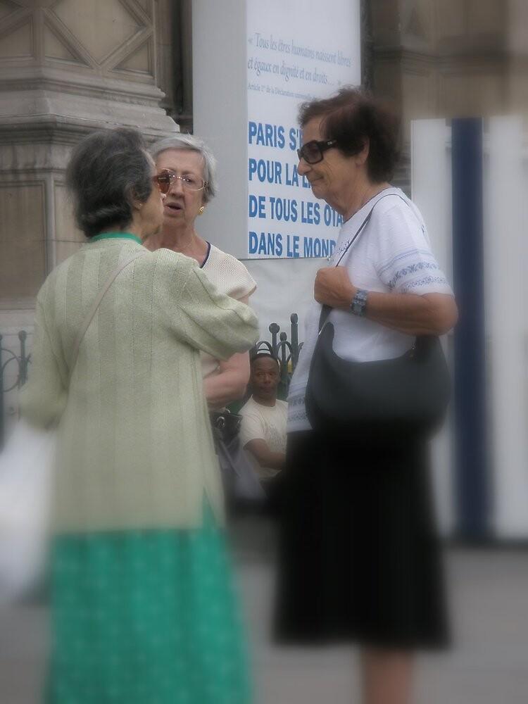 Parisian older women by ablokl07